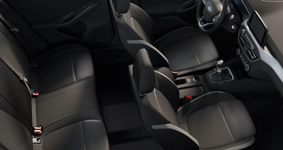 Renting Ford Focus Asientos