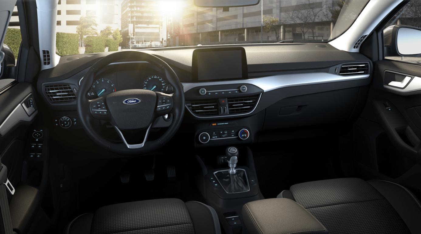 Renting Ford Focus Interior