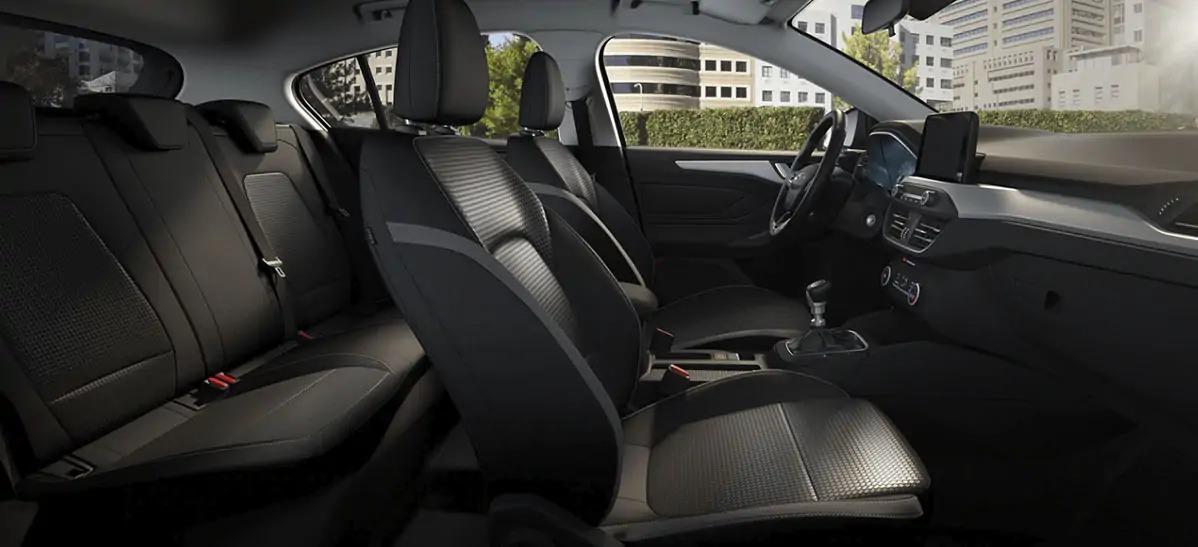 Interior del Ford Focus Trend+