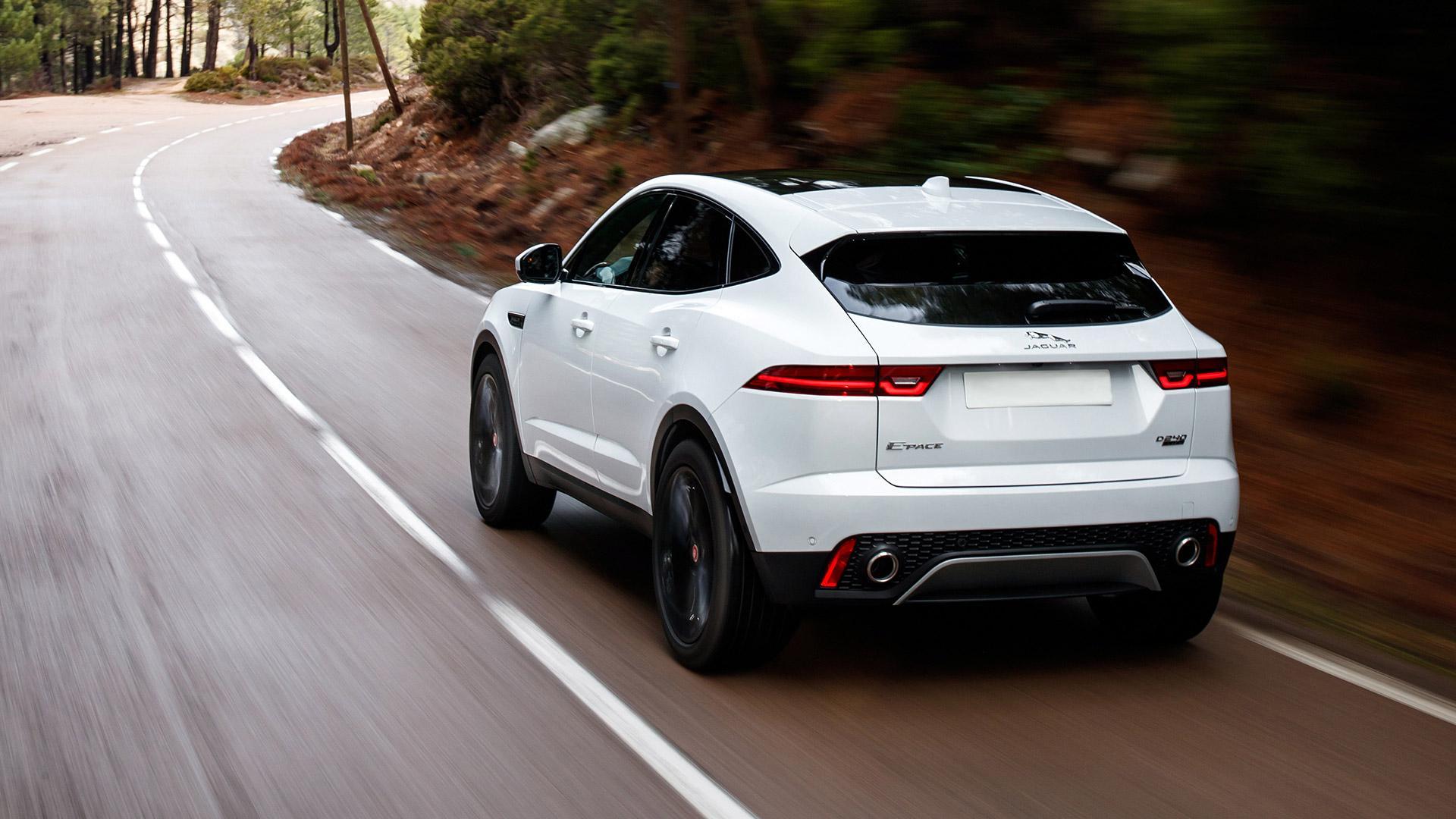 Renting Jaguar E-Pace