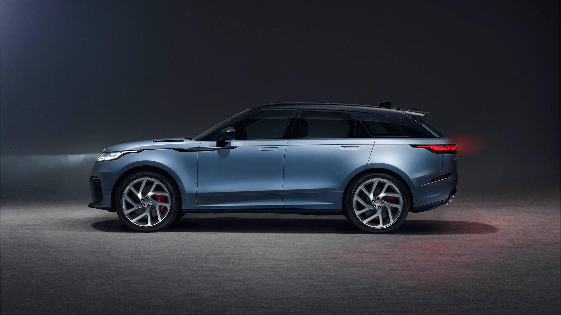 Renting Land Rover Velar