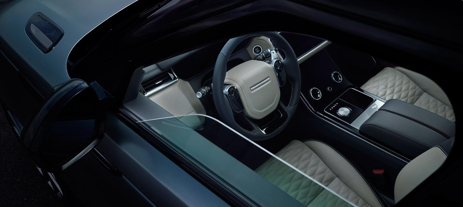 Renting particulares Land Rover Velar