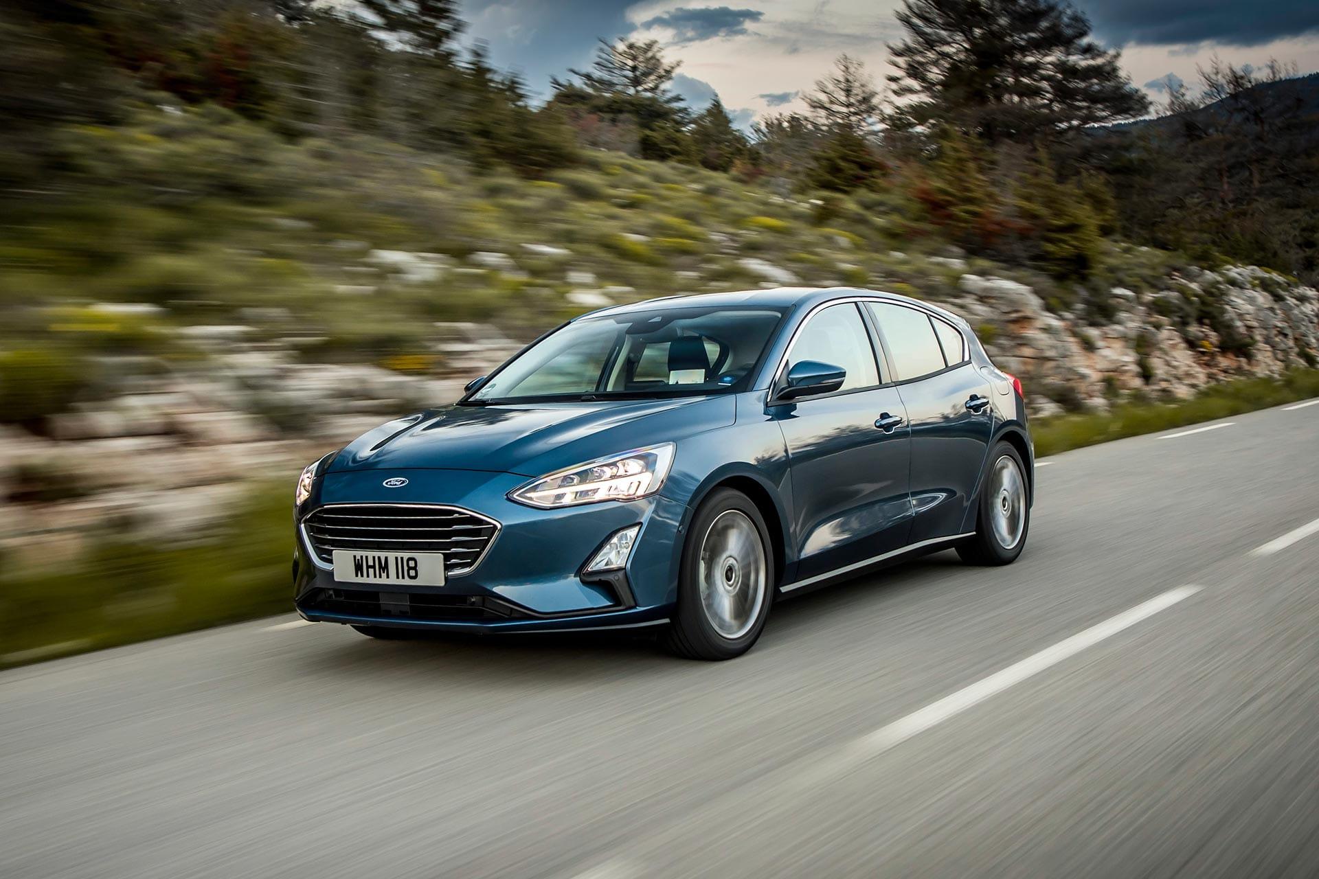 renting ford focus 1.5 ecoblue trend exterior delantero