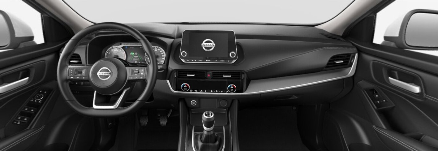 renting Nissan QashqaiAcenta 1.3 DIG-T 2WD MHEV E6D