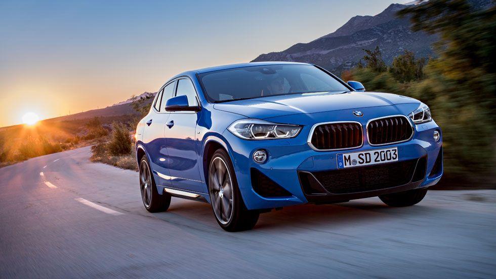 Renting de Coches BMW X2 sDrive 18d azul