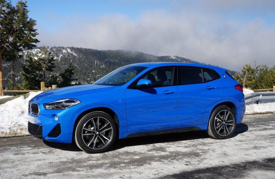Ofertas de Renting BMW X2 sDrive azul