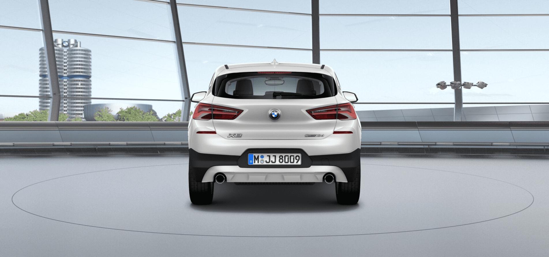 Maletero BMW X2 Sdrive