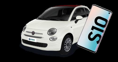Renting Fiat 500