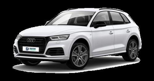 Renting Audi Q5 Black line quattro S tronic