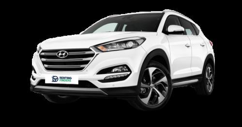 Renting Hyundai Tucson hibrido