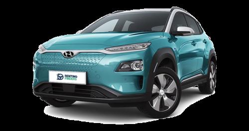 Renting Hyundai Kona EV Tecno