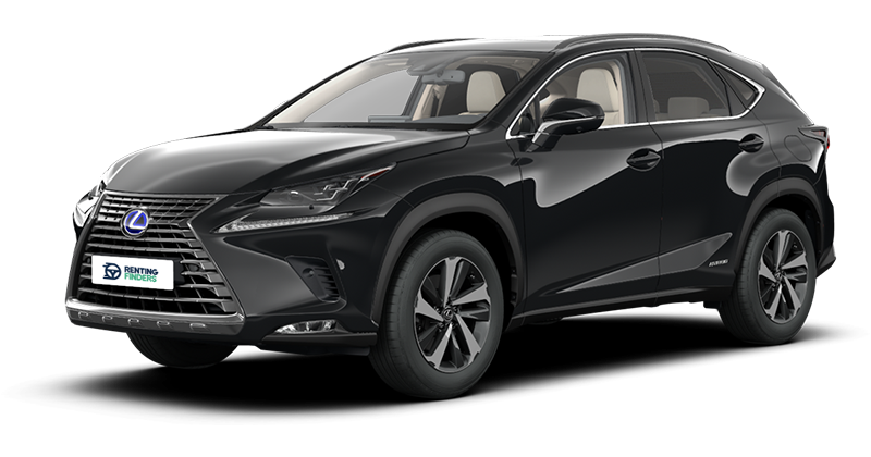 Renting Lexus NX 300H Business navigation
