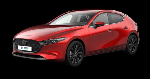 Renting Mazda 3 evolution