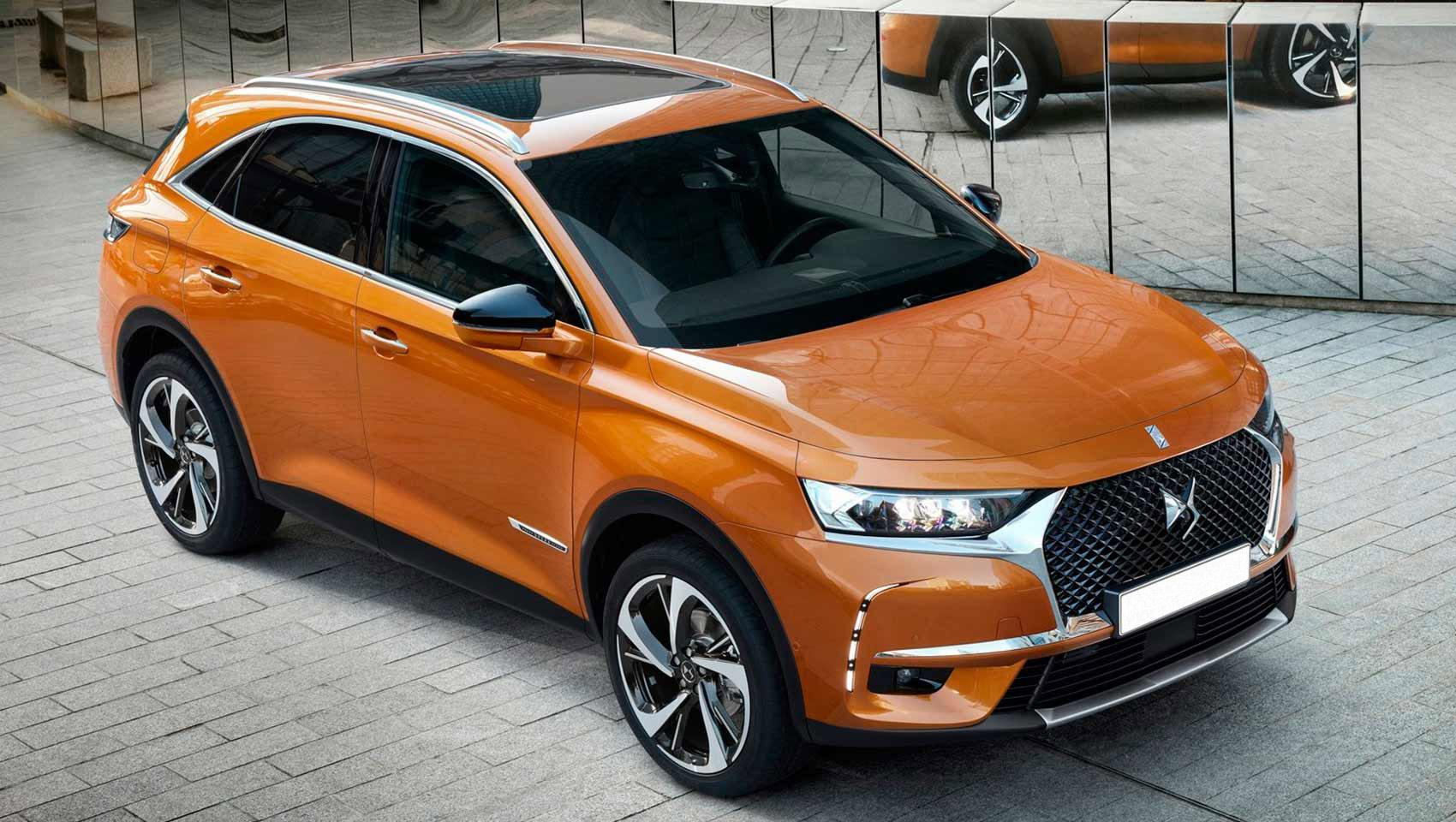 Renting DS7 Crossback