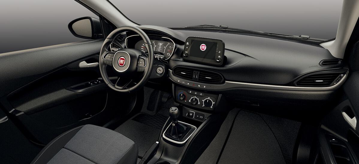 Renting Fiat Tipo Interior