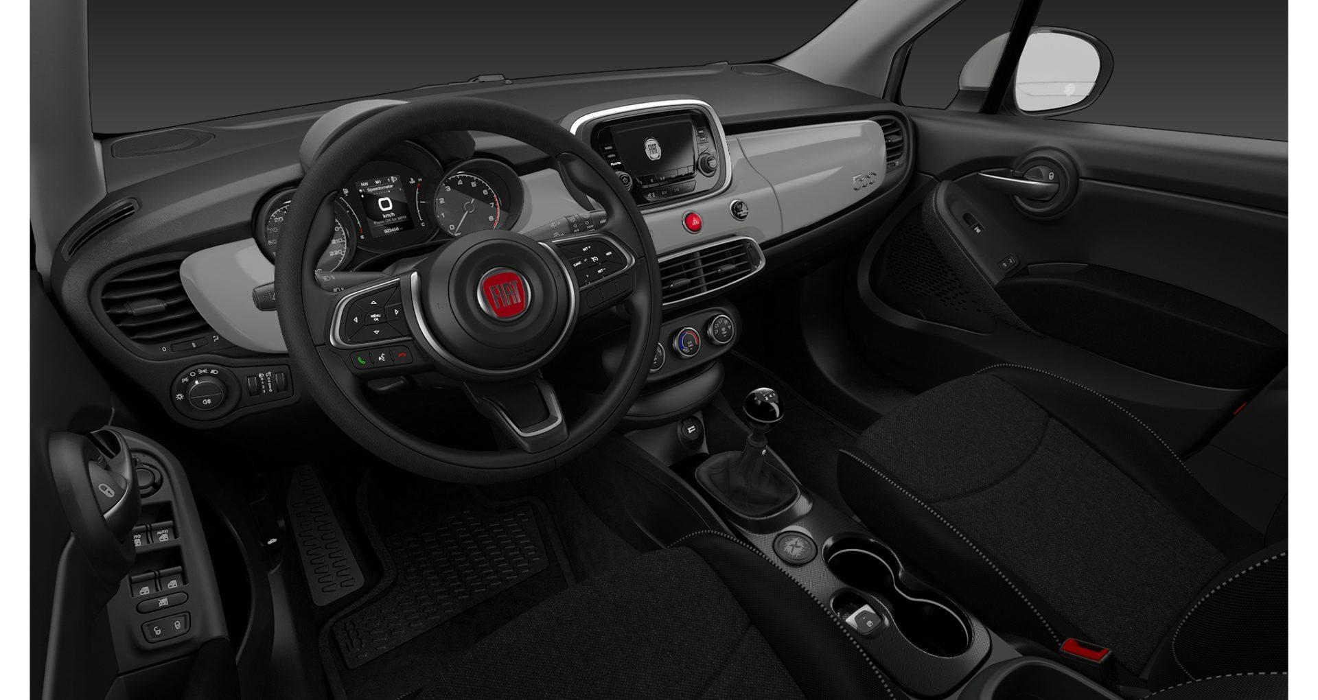 RentingFiat 500 X Interior