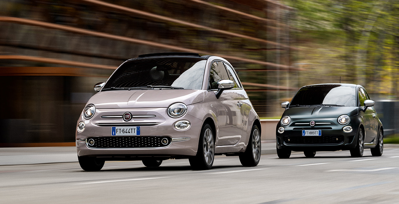 renting coches fiat 500 lounge