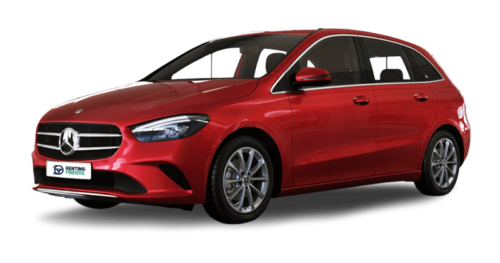 Renting Profesionales Mercedes Clase B 180d Rojo
