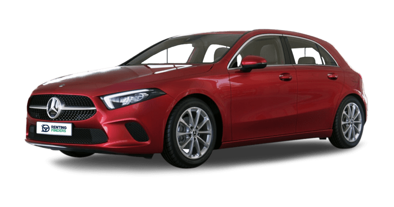 Renting Profesionales Mercedes Clase A 180d Rojo