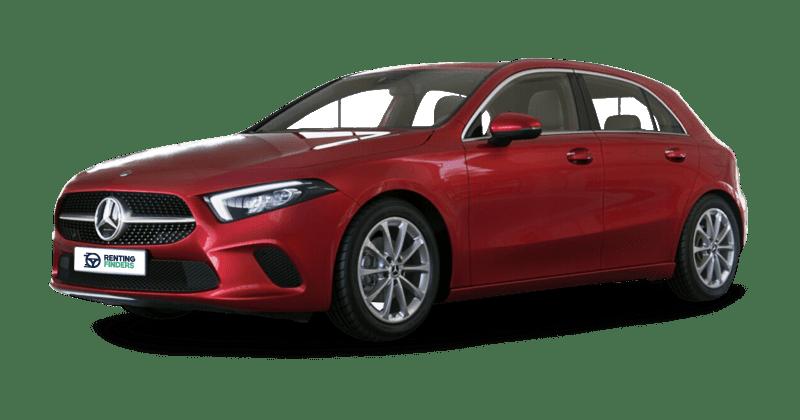 Mercedes Clase A 180d Rojo