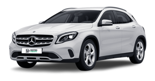 Renting Profesionales Mercedes Clase GLA 200d Blanco