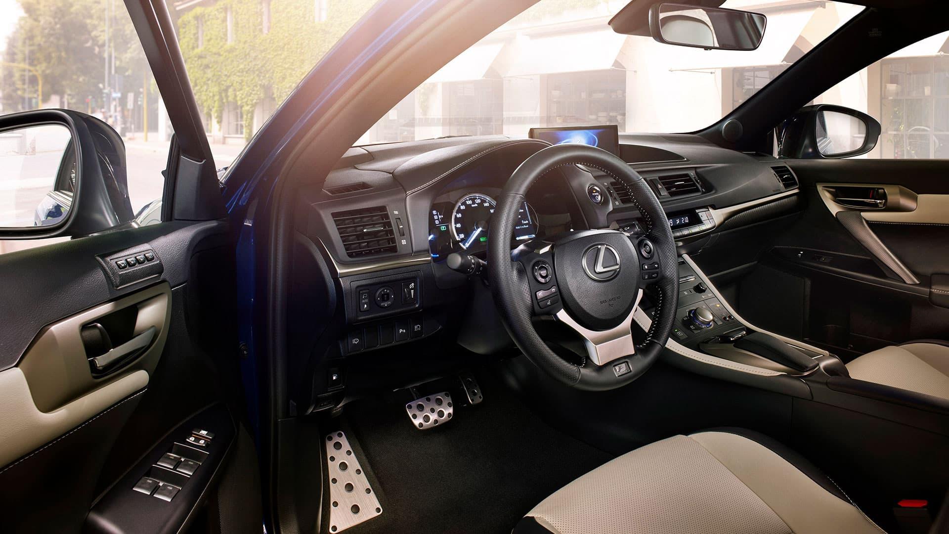 Renting particulares Lexus CT