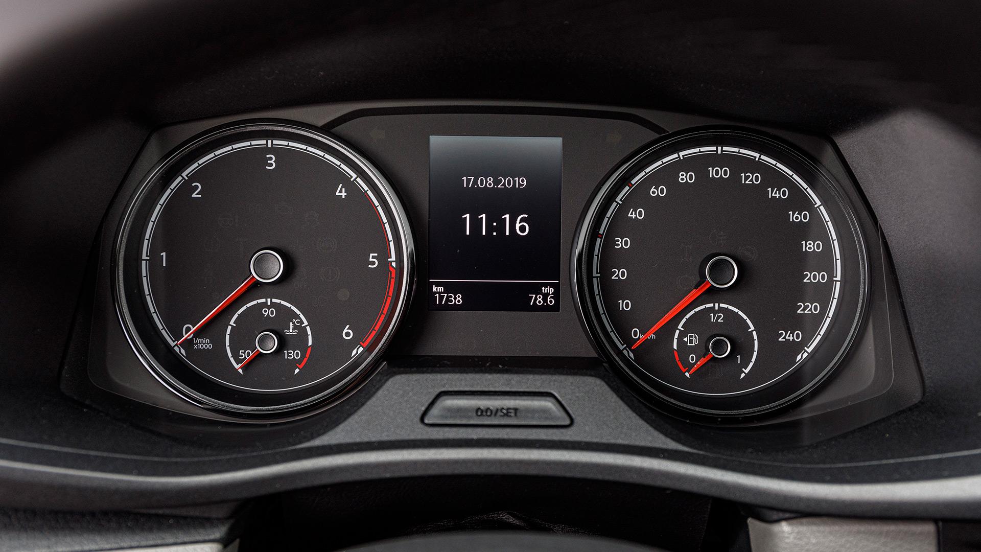 Renting Volkswagen transporter