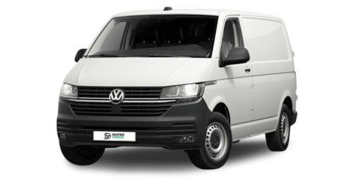 Renting Volkswagen Transporter Blanco