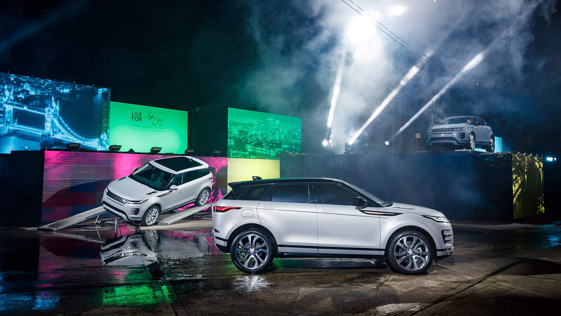Renting autónomos y empresas Land Rover Evoque