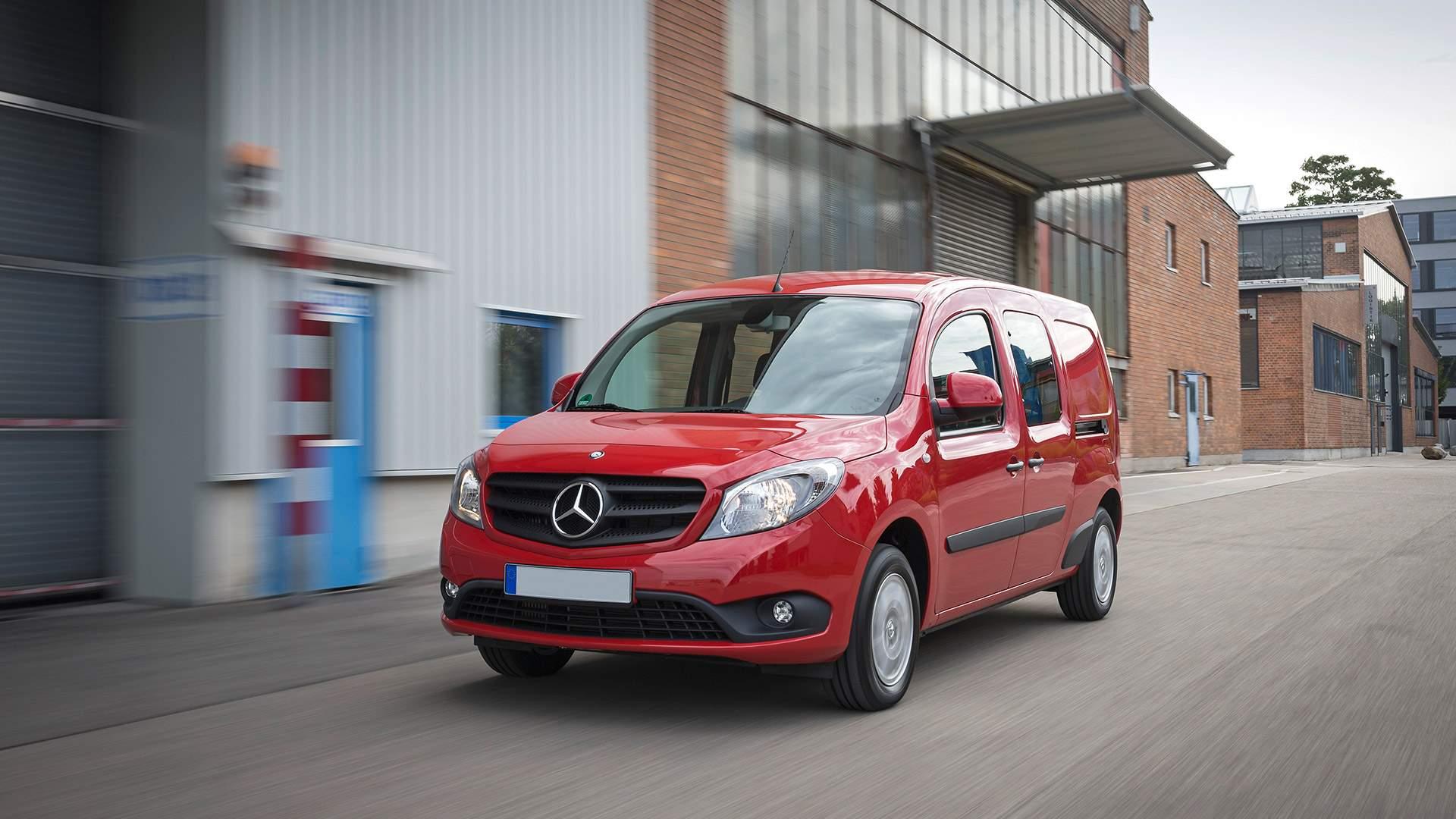 Renting de furgonetas Mercedes Citan