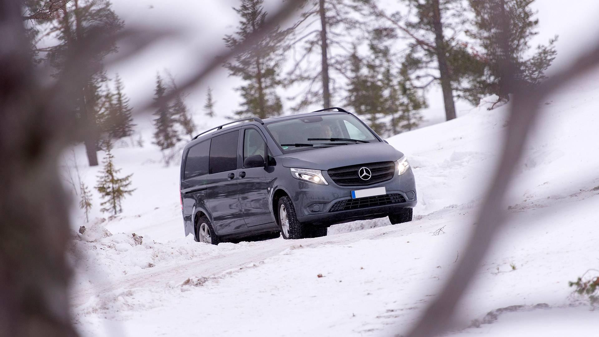 Renting de furgones Mercedes Vito