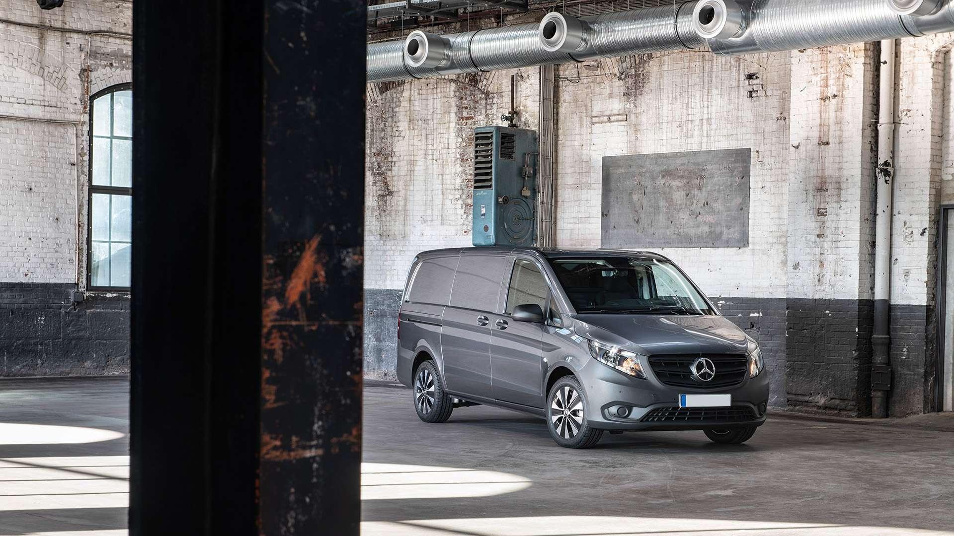 Renting furgonetas Mercedes Vito