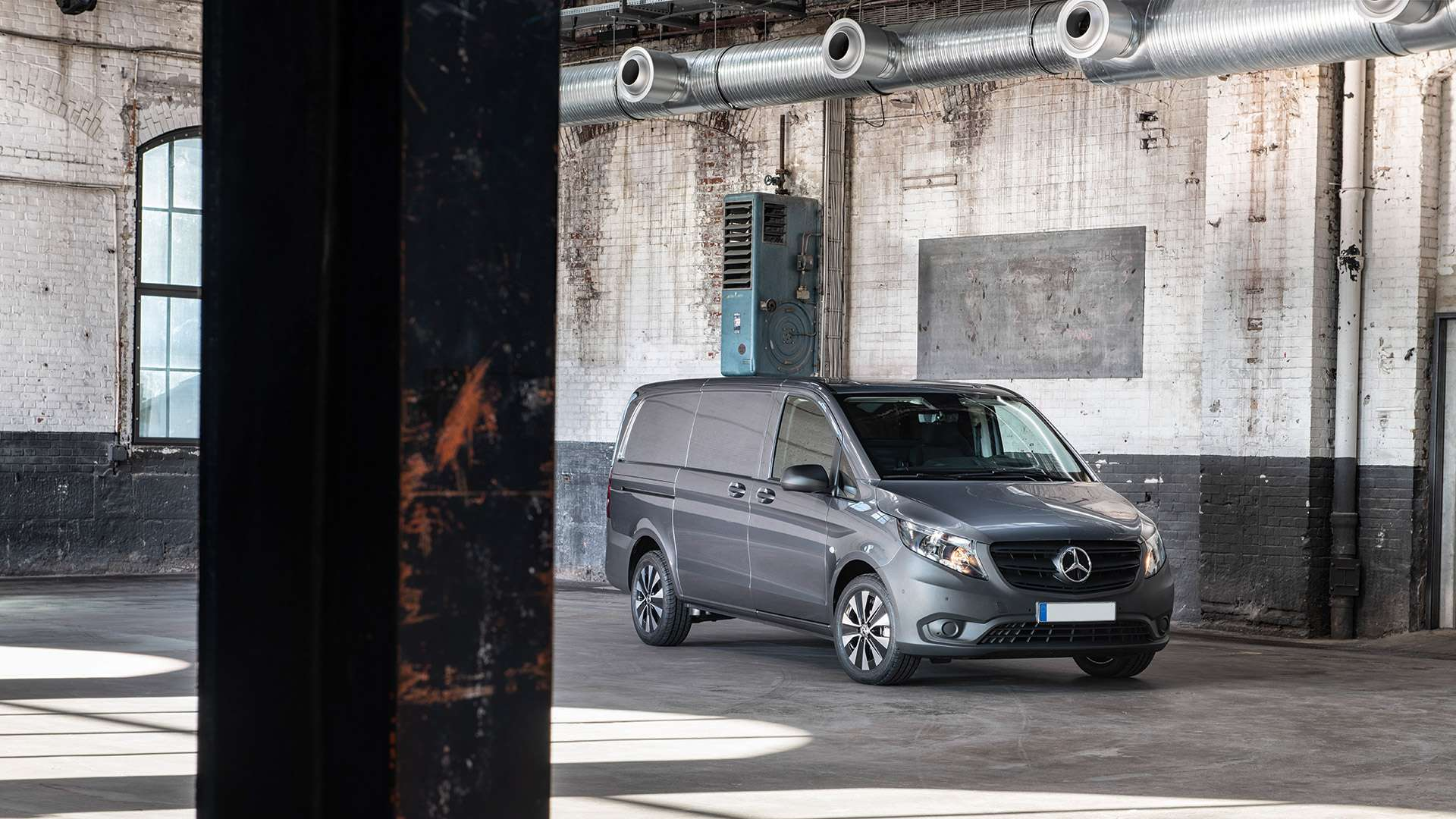 Renting furgonetas para empresas Mercedes Vito