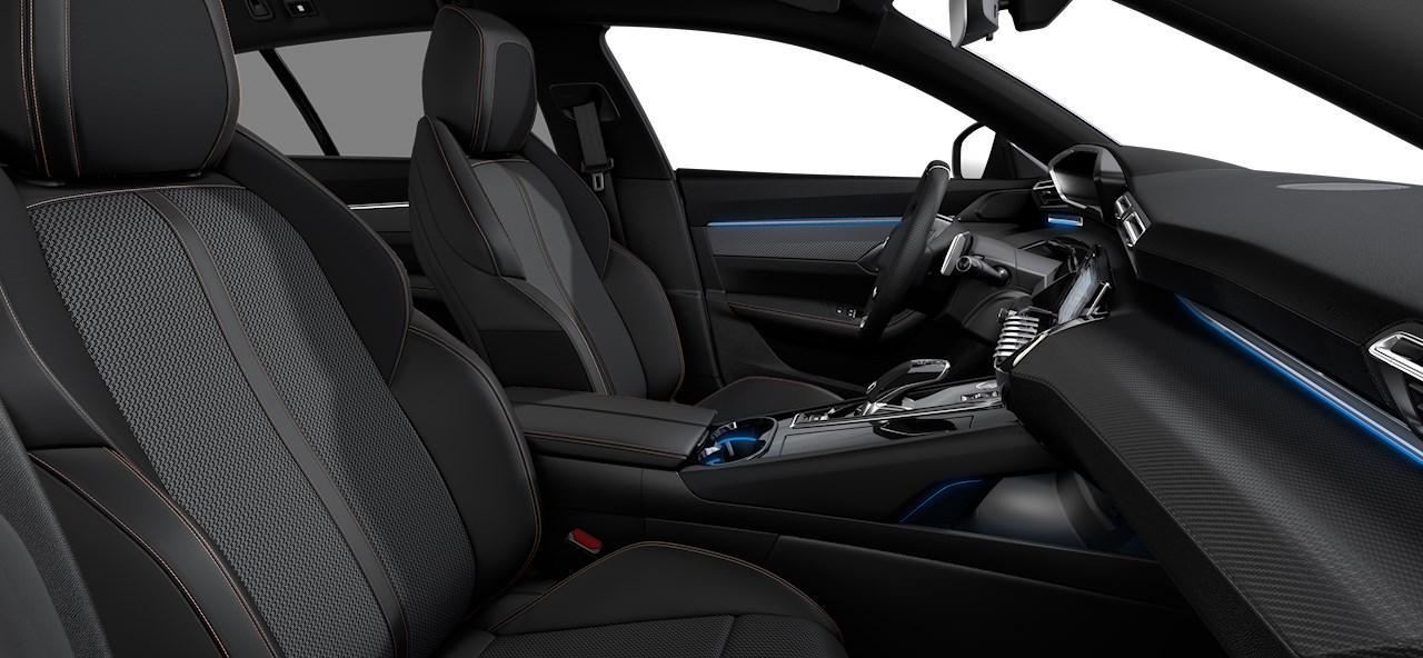 Renting Peugeot 508 Interior