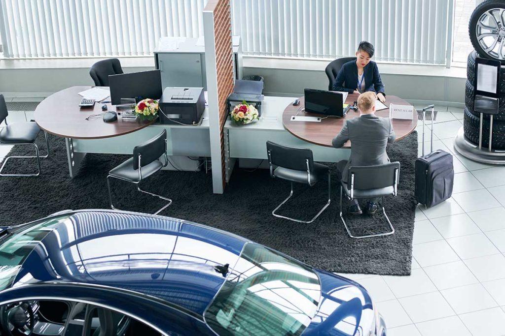 ¿Es posible hacer renting de coches estando en ASNEF?