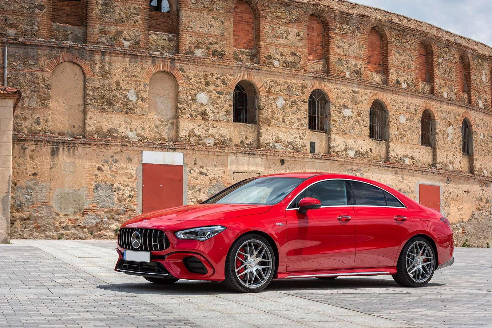Renting de coches Mercedes CLA