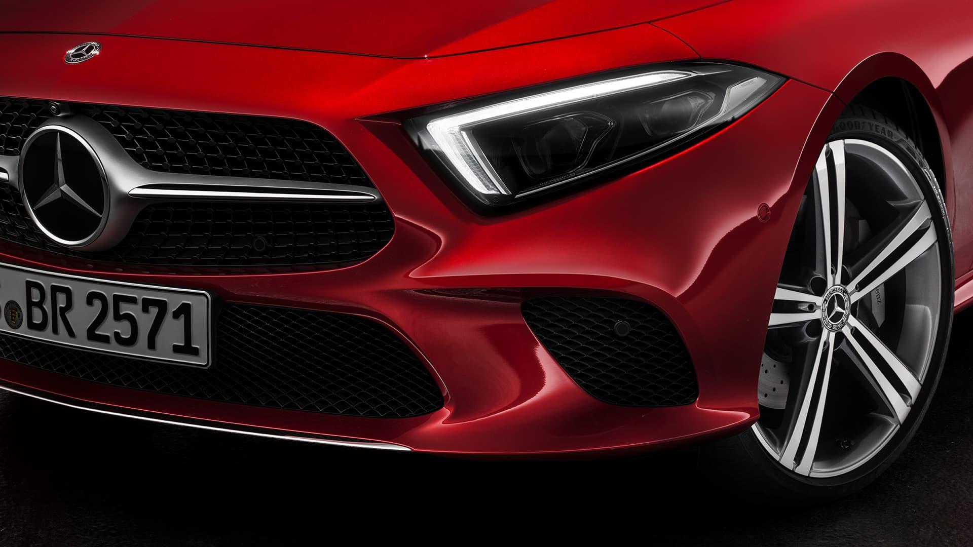 Renting de coches Mercedes CLS