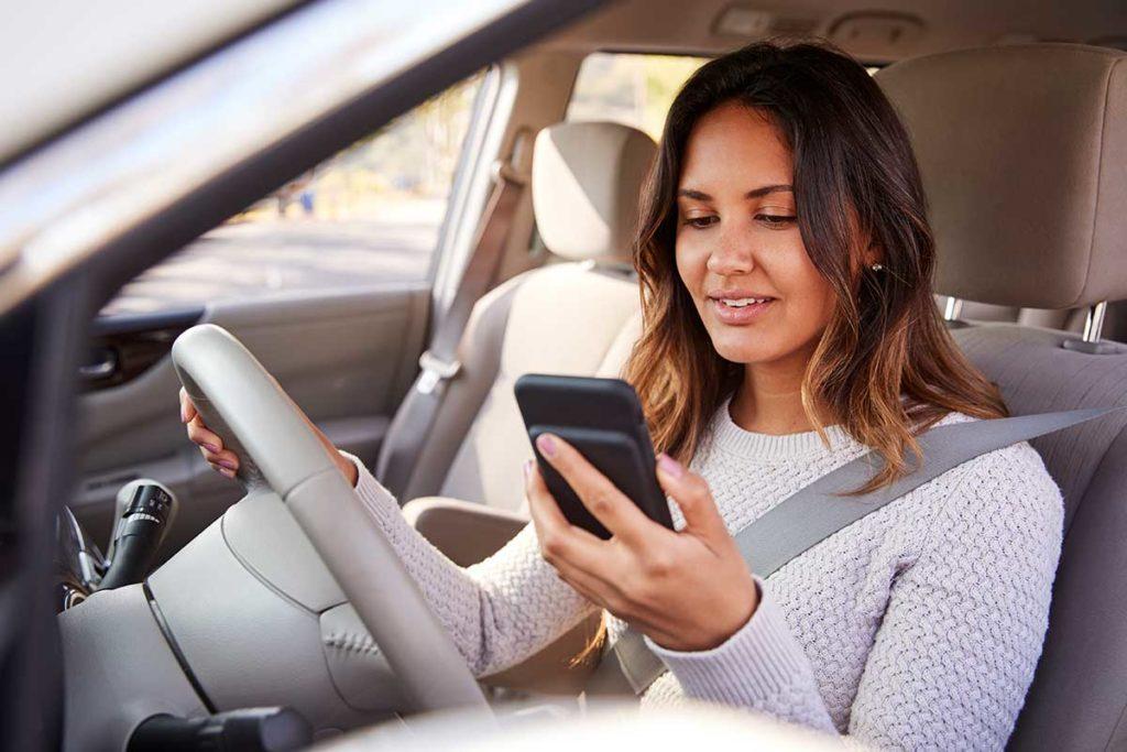 Aplicaciones de móvil para aparcar