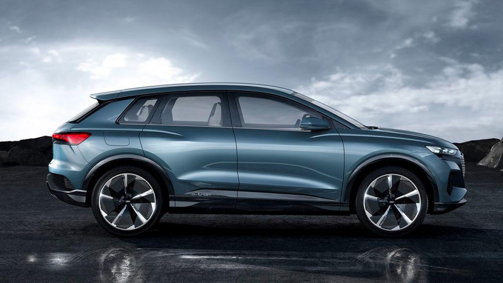 Audi Q4 e-tron concept: una mirada hacia el futuro eléctrico