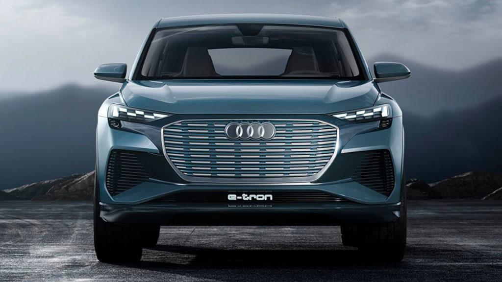 Diseño atrevido y futurista del Audi Q4 e-tron concept