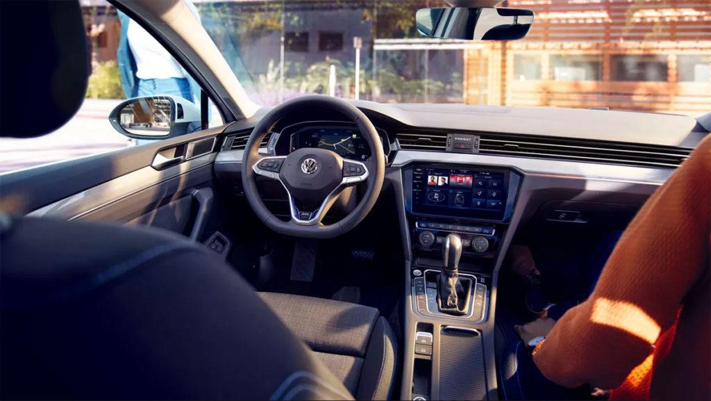 Interior de lujo del nuevo Volkswagen Passat GTE