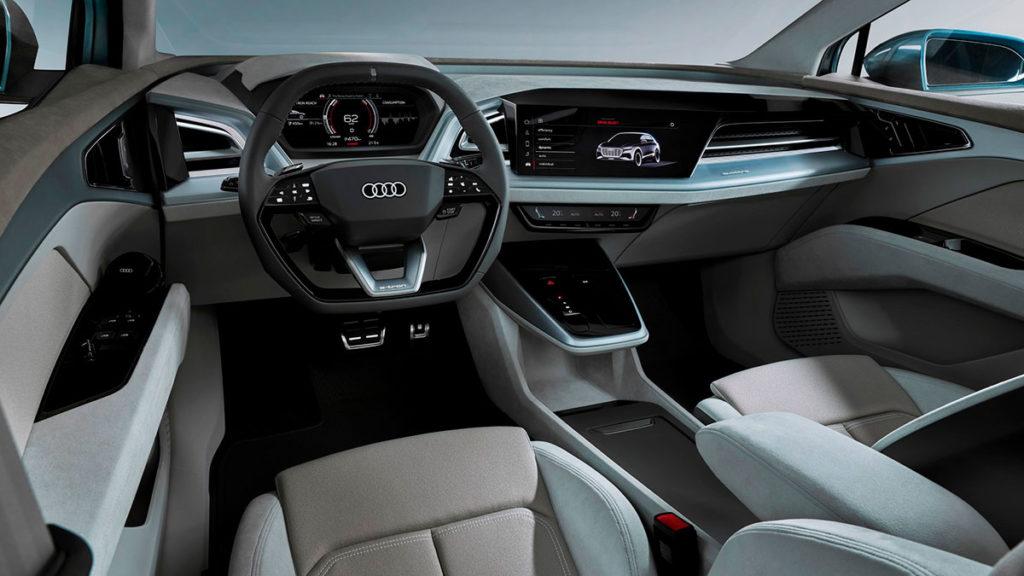 Equipamiento de última tecnología del Audi Q4 e-tron