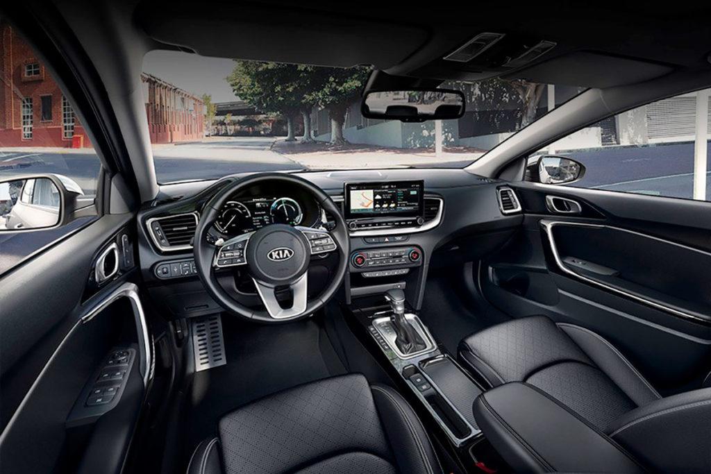 Interior y equipamiento del Kia XCeed CUV