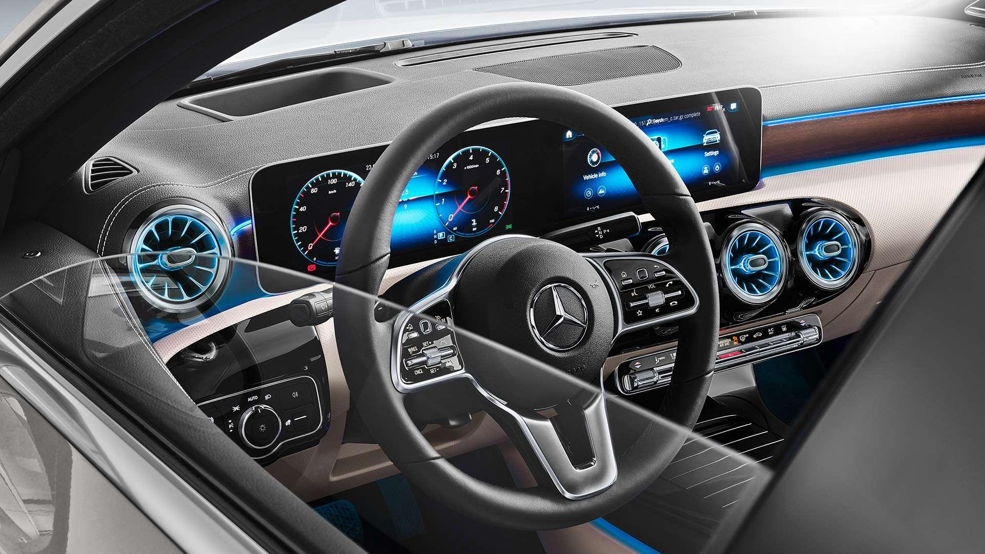 Renting Mercedes Sedan