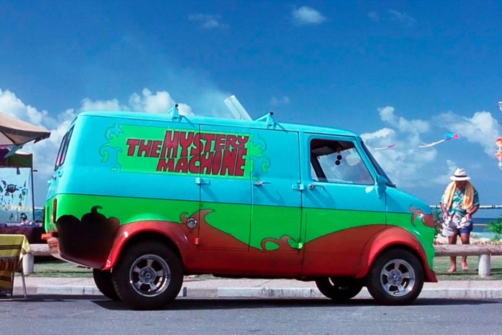 Bedford CF de 1972 en Scooby Doo