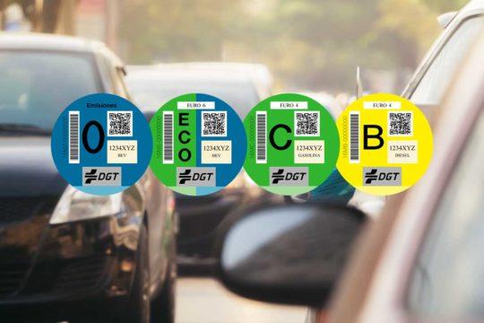 Las claves sobre las etiquetas medioambientales de la DGT