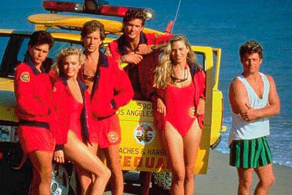 Ford Ranger en los vigilantes de la playa