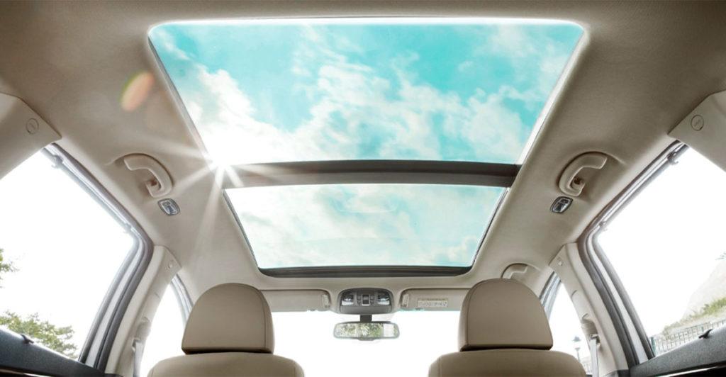 Techo panorámico del nuevo Kia Sorento 2020
