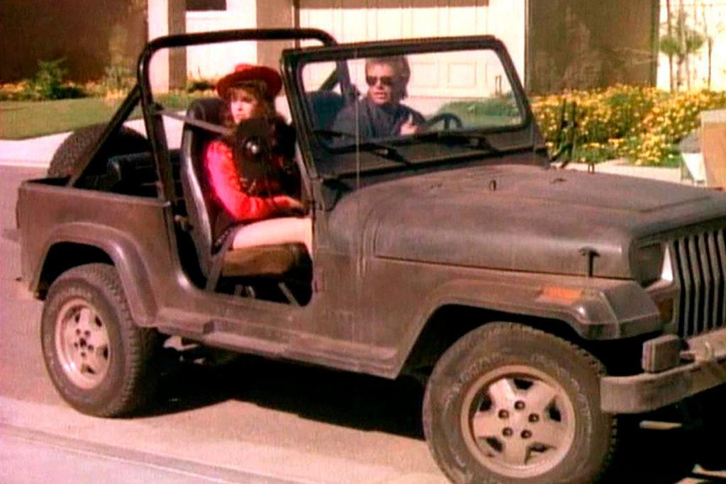 Jeep Wrangler YJ 1987 de McGyver