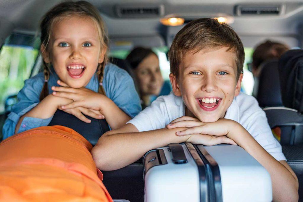Coches de renting para trayectos largos en familia